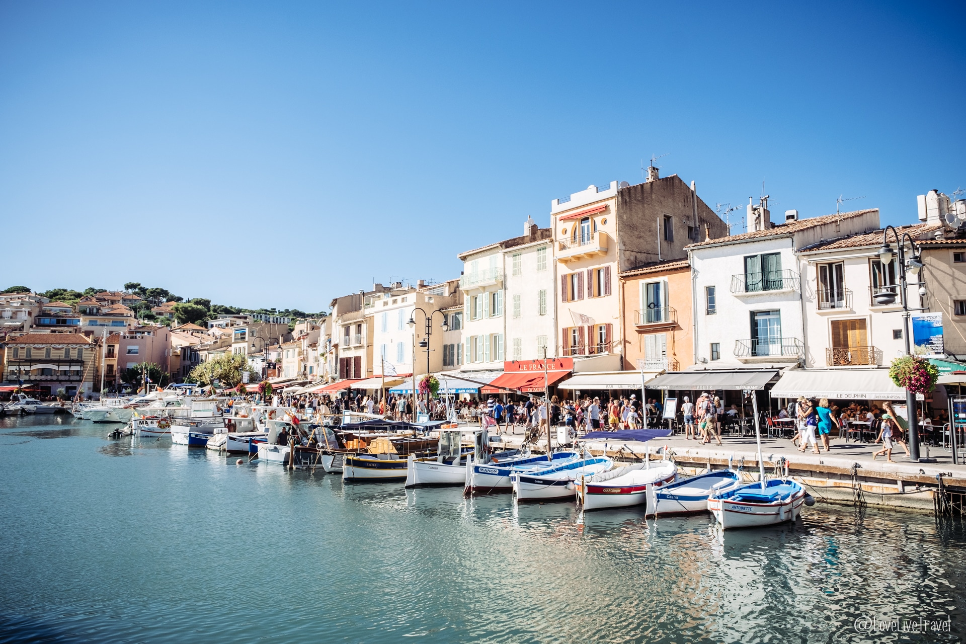 cassis Marseille france blog voyage lovelivetr