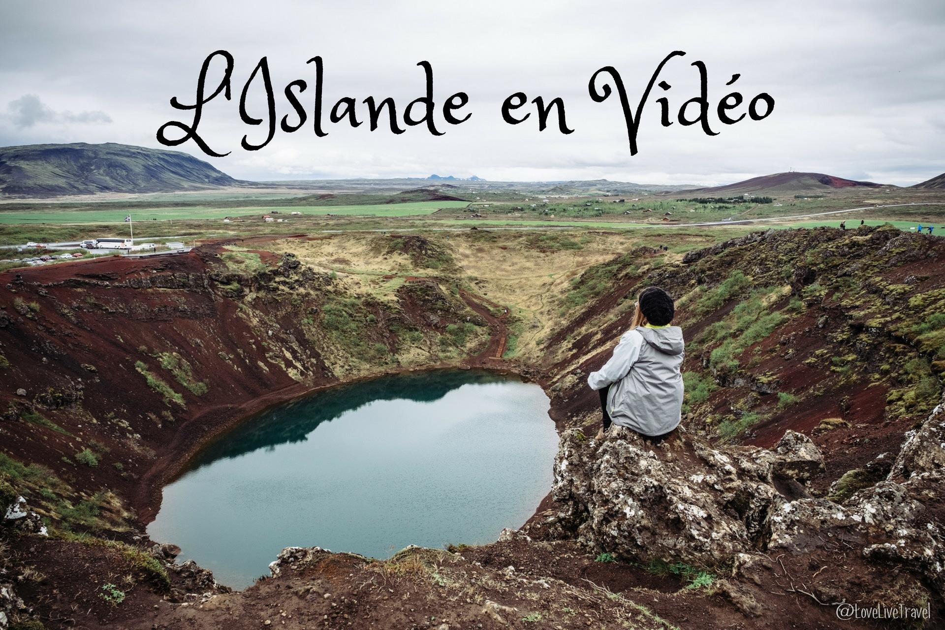 Vidéo Islande en 2 minutes chrono