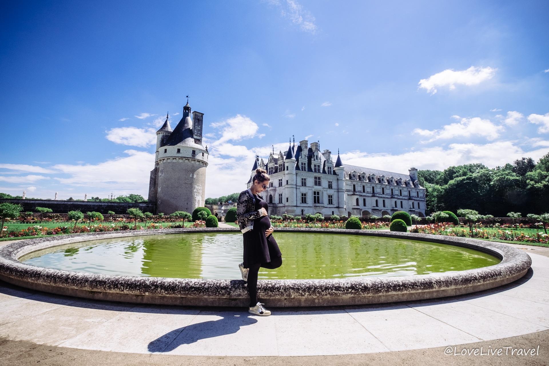 Loire France grossesse blog voyage LoveLiveTravel