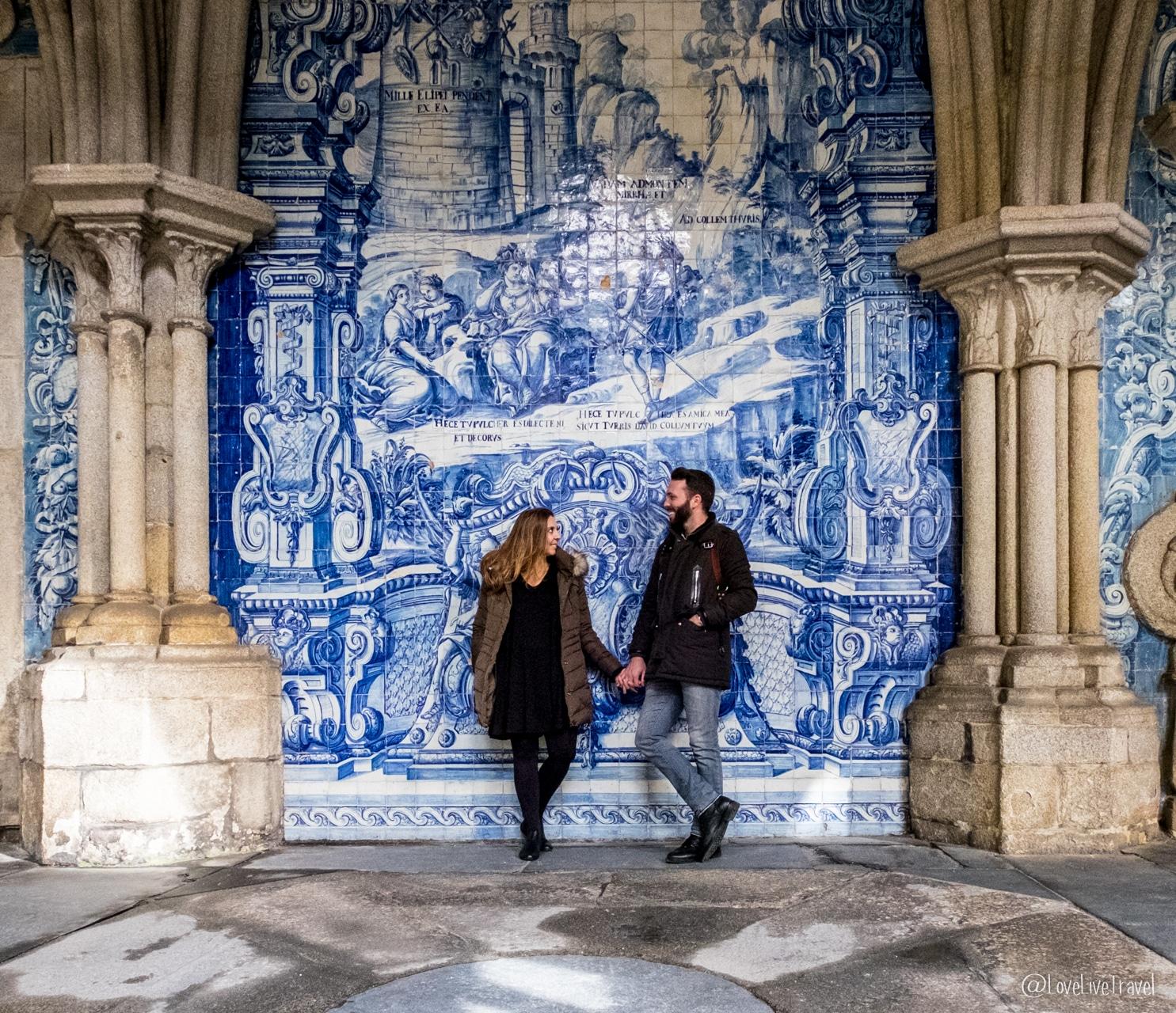 Porto couple grossesse blog voyage Lovelivetravel