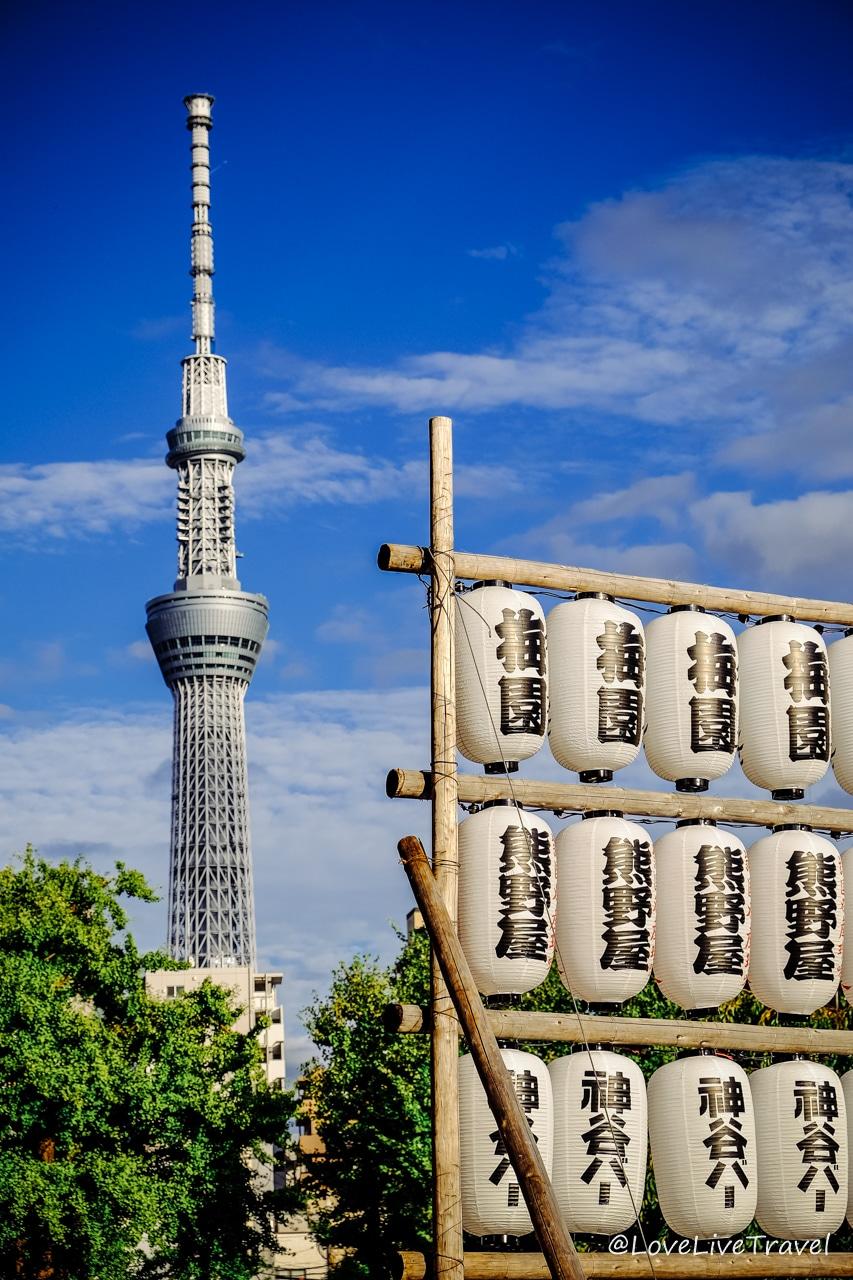 skytree tower Tokyo Japon blog voyage Lovelivetravel