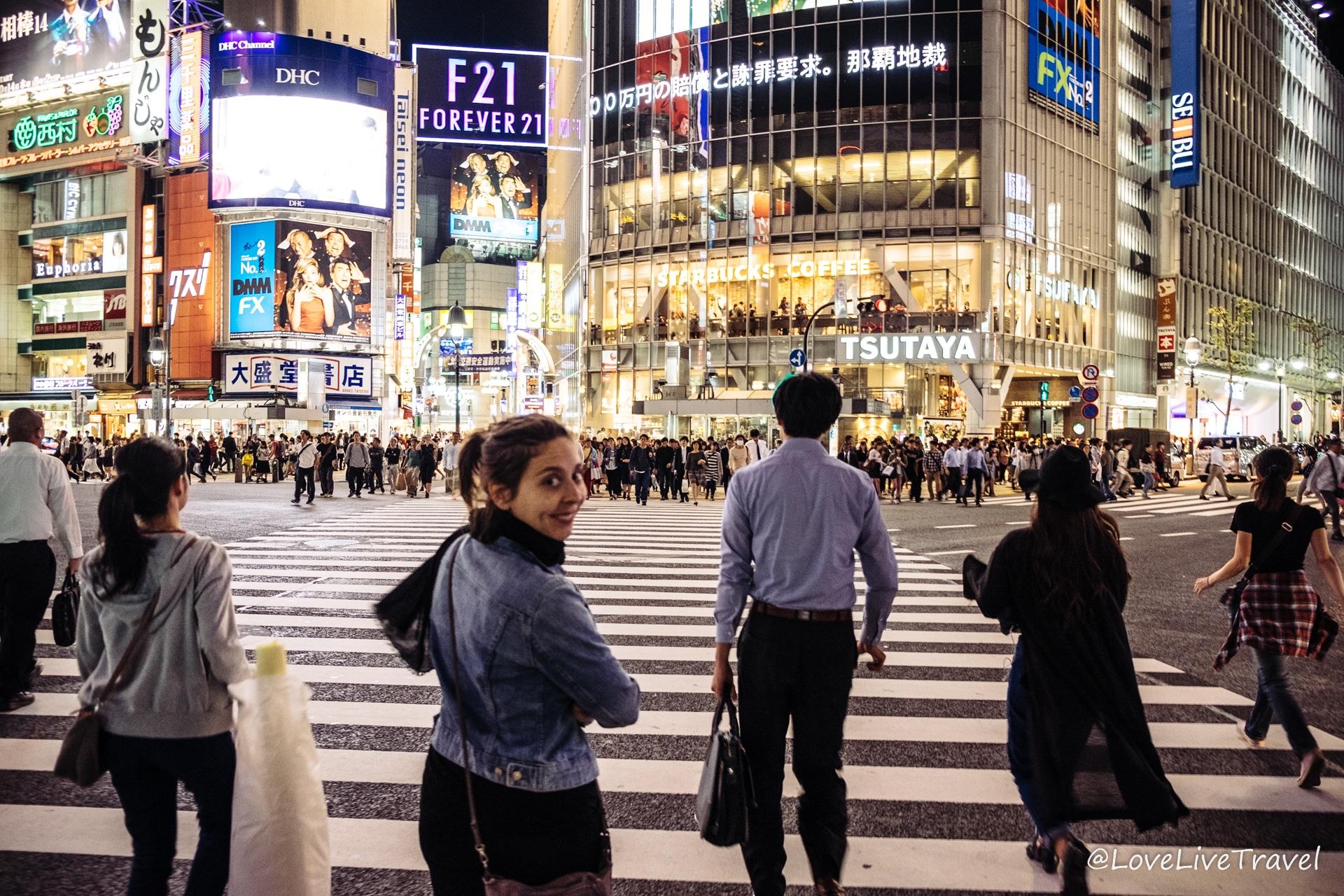 Tokyo Japon blog voyage Lovelivetravel shibuya
