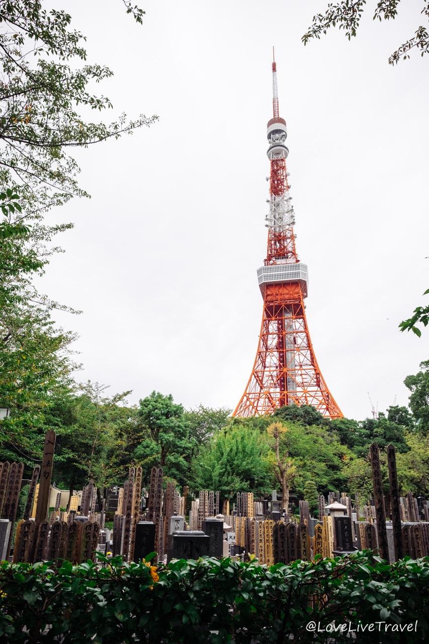 tokyo tower Japon blog voyage Lovelivetravel
