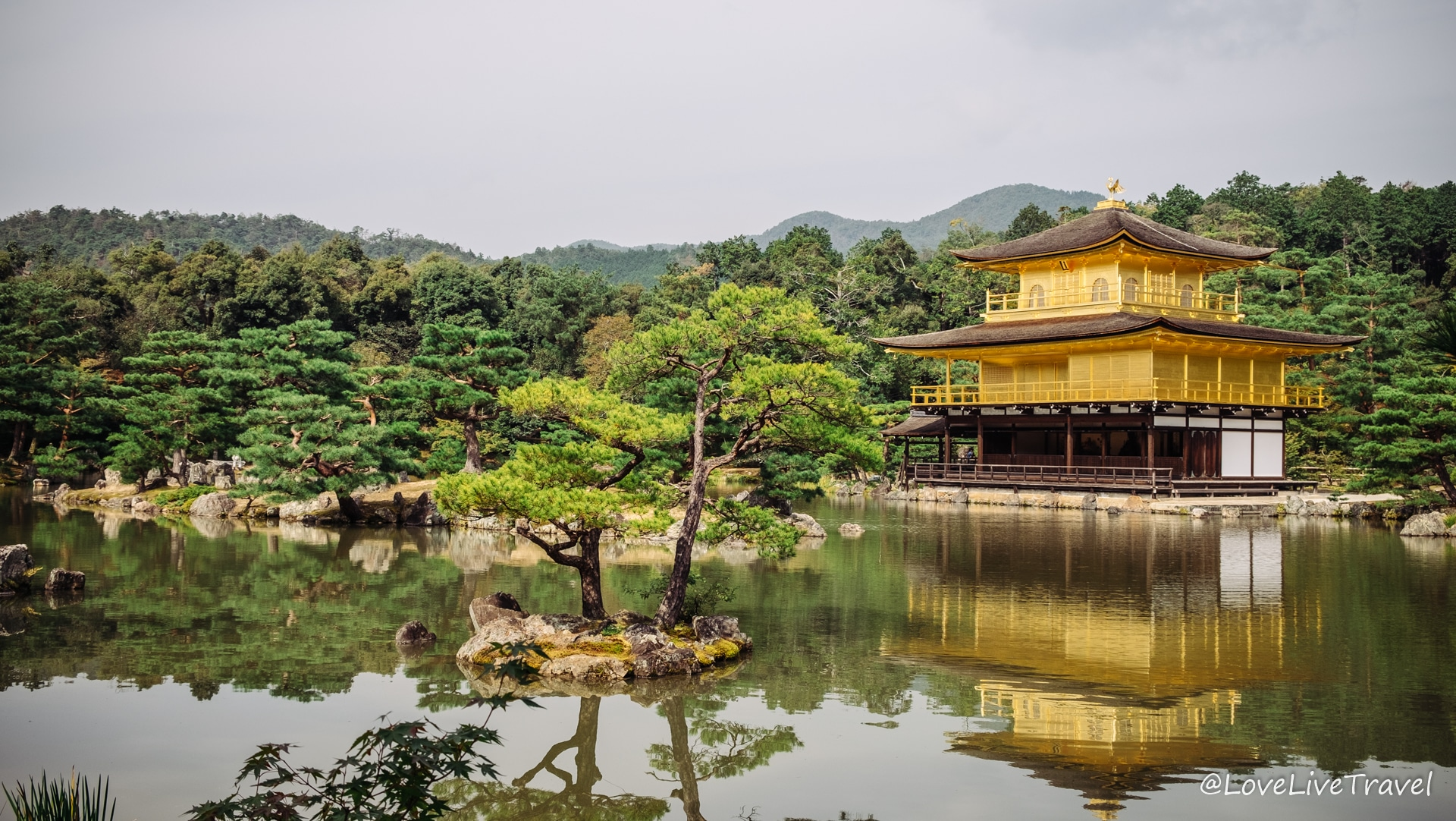 pavillon d'or Kyoto Japon blog voyage Lovelivetravel