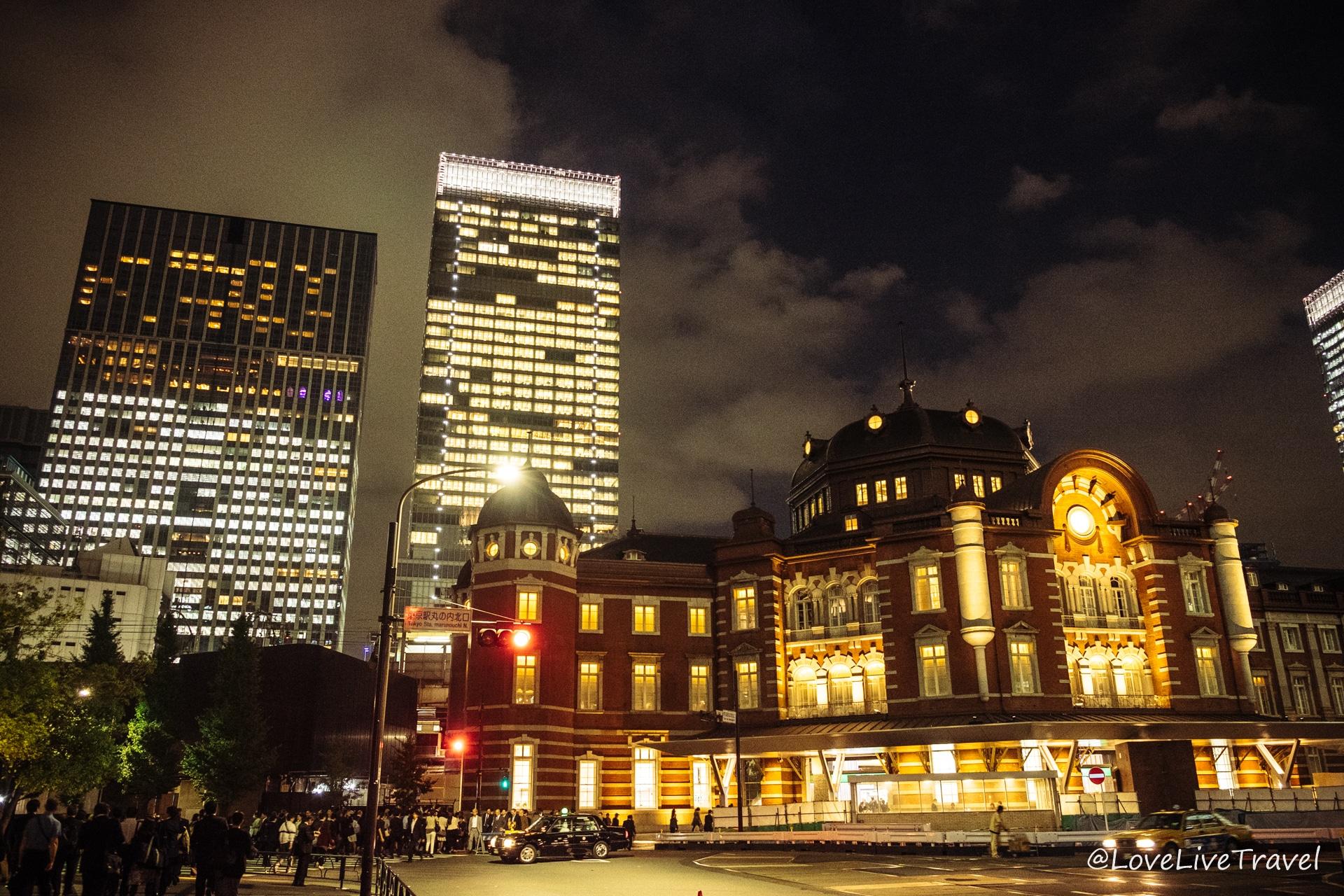 tokyo station hotel Japon blog voyage Lovelivetravel