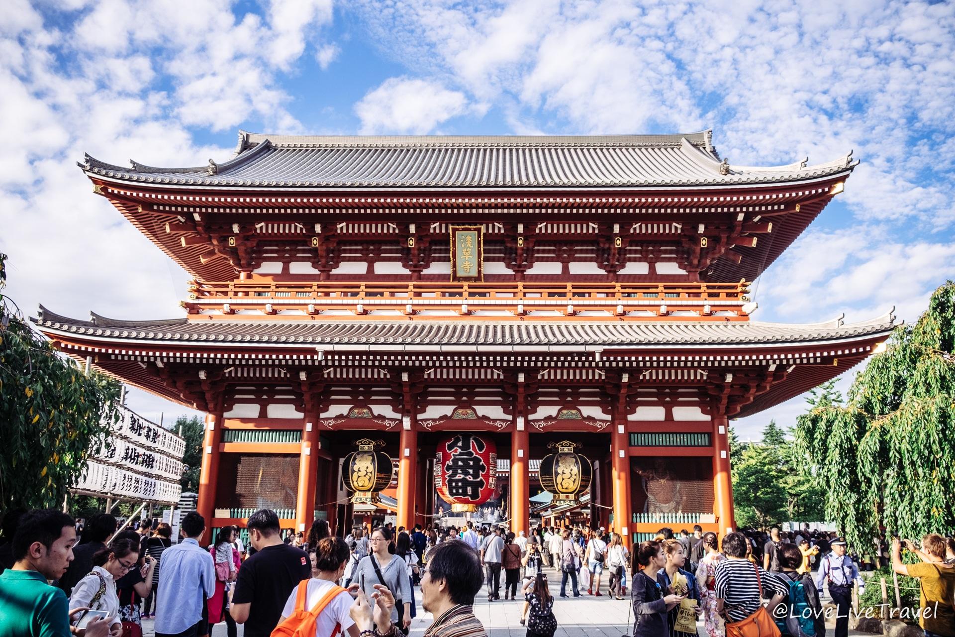 Quartier Asakusa Tokyo Japon blog voyage Lovelivetravel