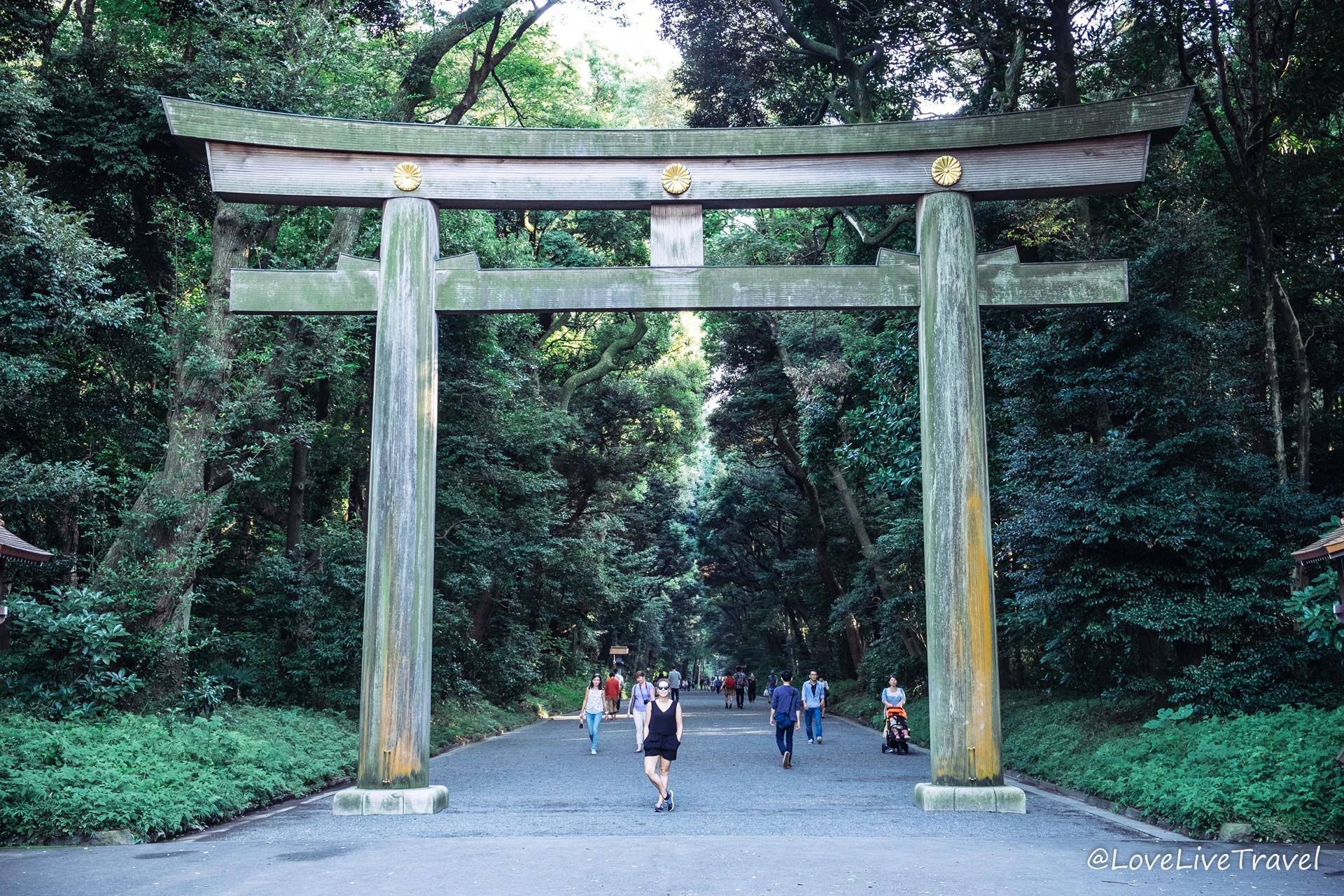 Parc Meji Shrine Gyoen Tokyo Japon blog voyage Lovelivetravel