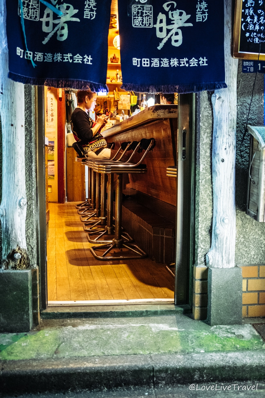 Quartier de Golden Gai Tokyo Japon blog voyage Lovelivetravel