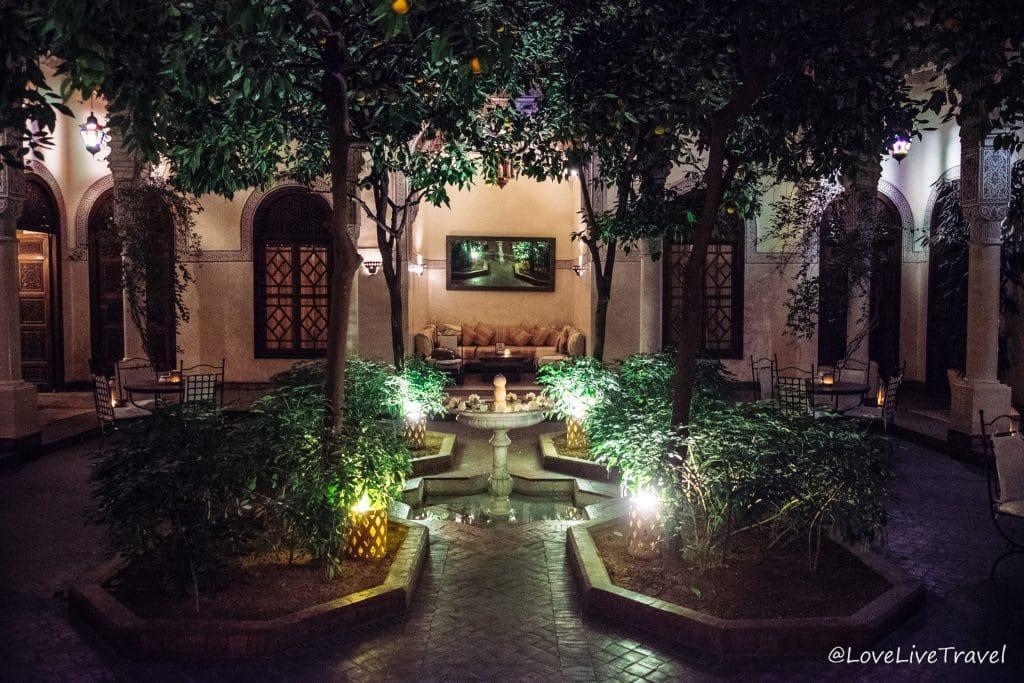villa des orangers Maroc marrakech blog voyage lovelivetravel