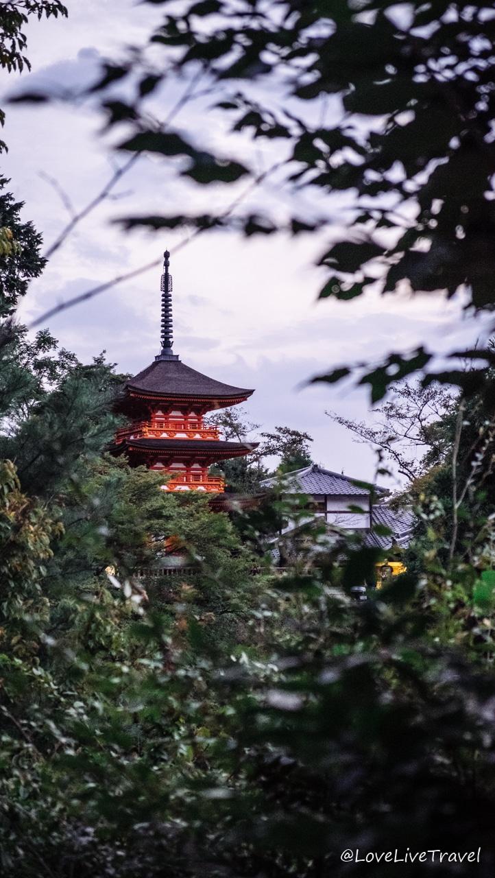 Japon temple Kiyomizu dera blog voyage lovelivetravel