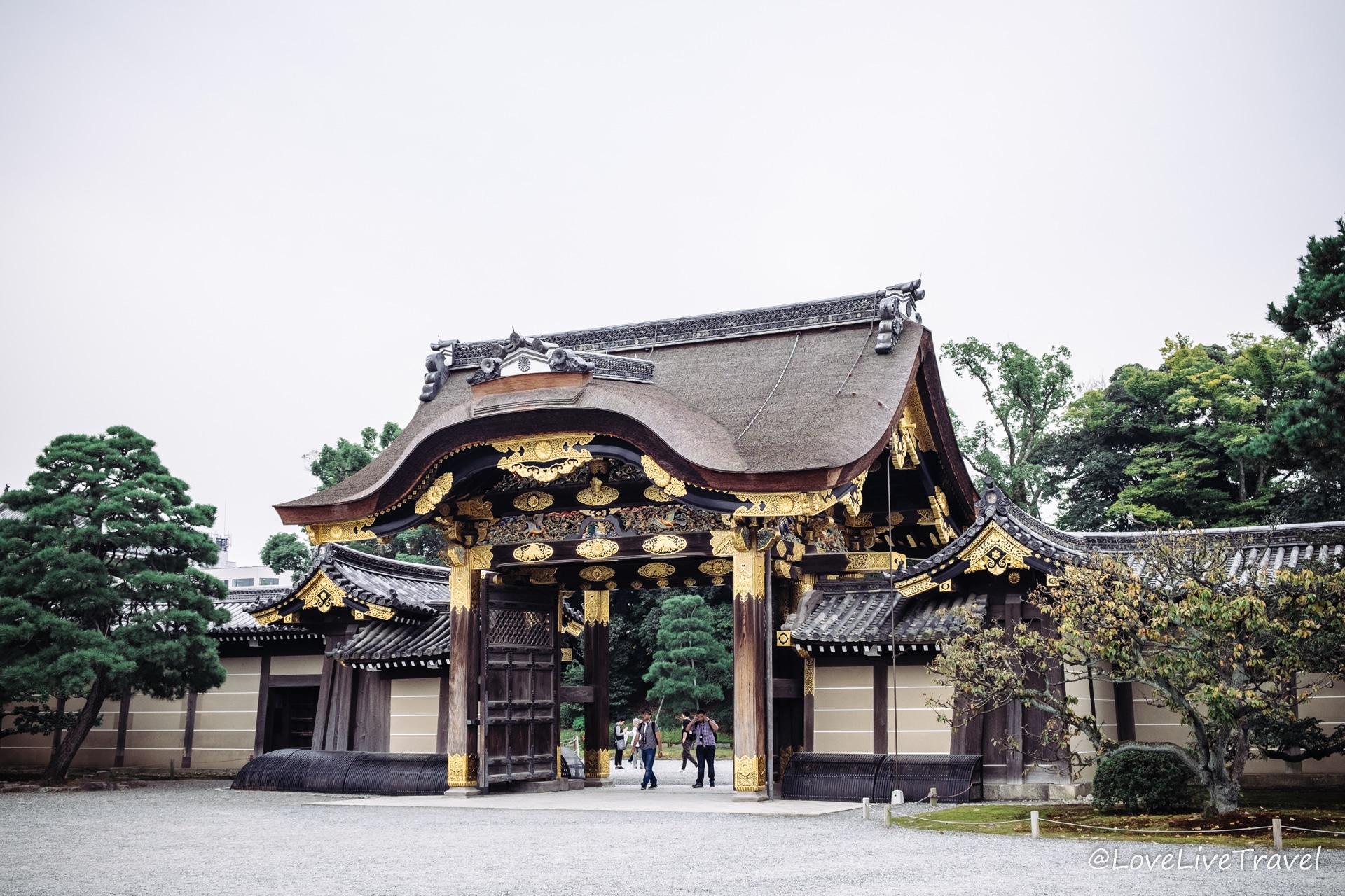 château de Nijo Kyoto Japon Blog Voyage Lovelivetravel