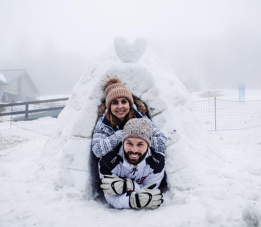 Massif des vosges france ski neige blog voyage lovelivetravel igloo