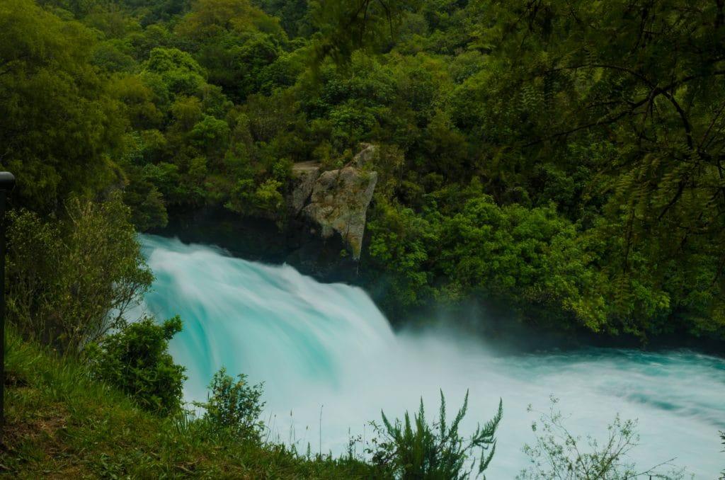 nouvelle Zélande blog voyage lovelivetravel Huka Falls