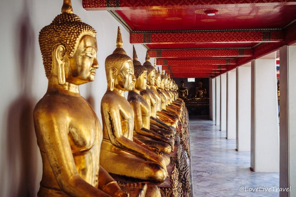 thailande blog voyage lovelivetravel bangkok Wat Pho