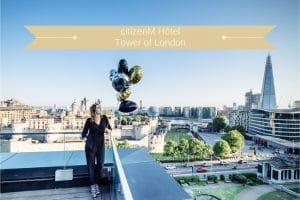 Hôtel CitizenM Tower of London à Londres blog voyage lovelivetravel