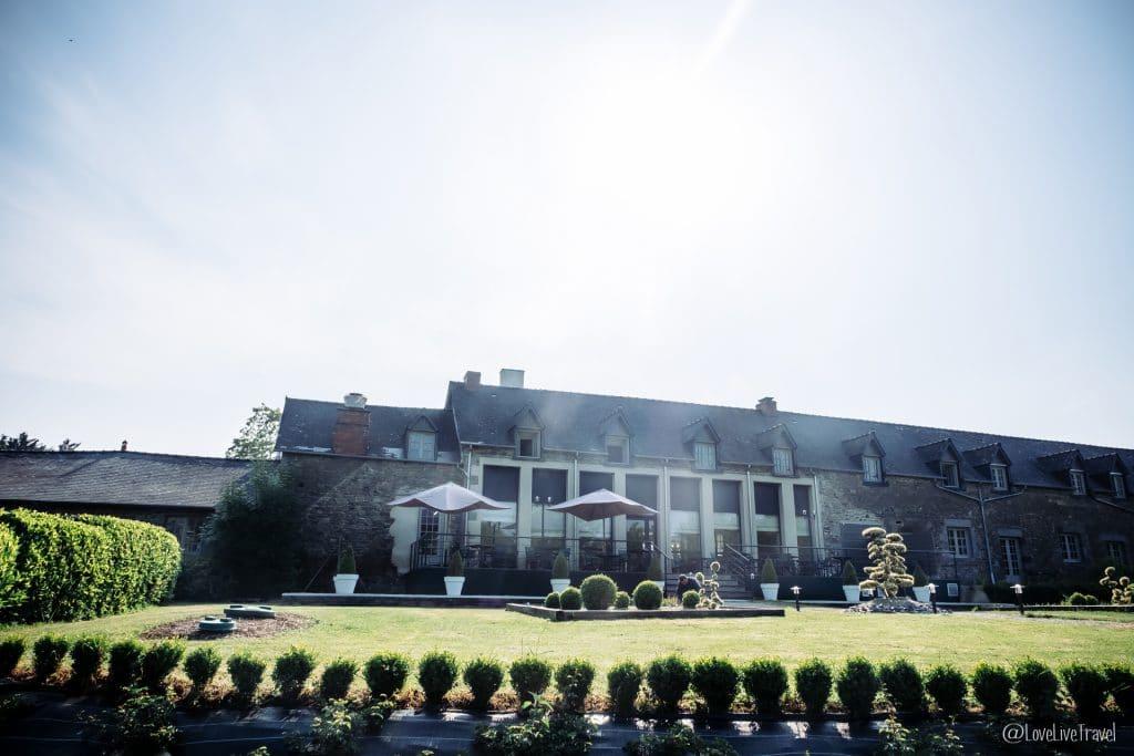 hôtel de l'abbaye le tronchet blog voyage lovelivetravel
