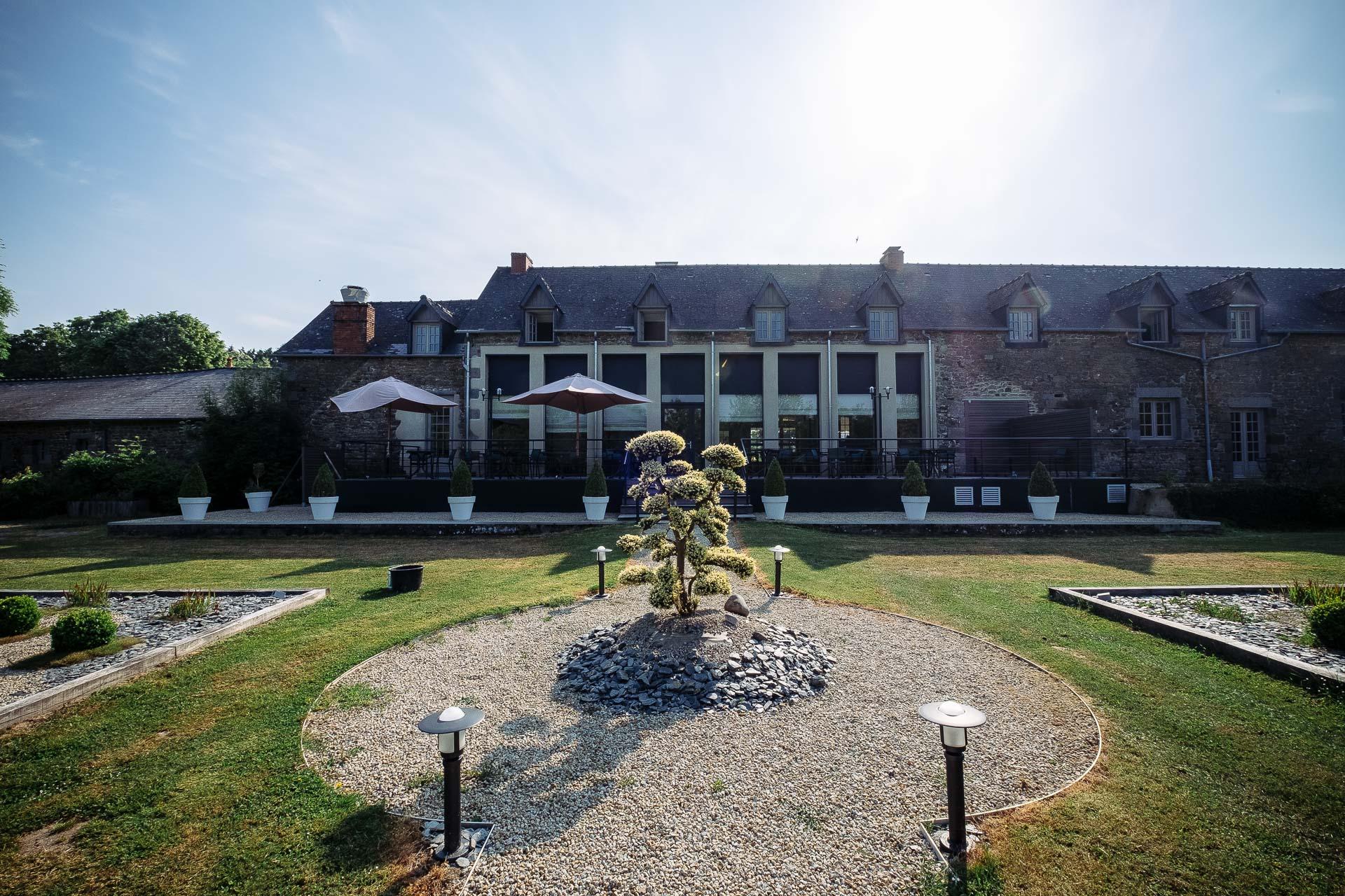 Hôtel de l'Abbaye au Tronchet
