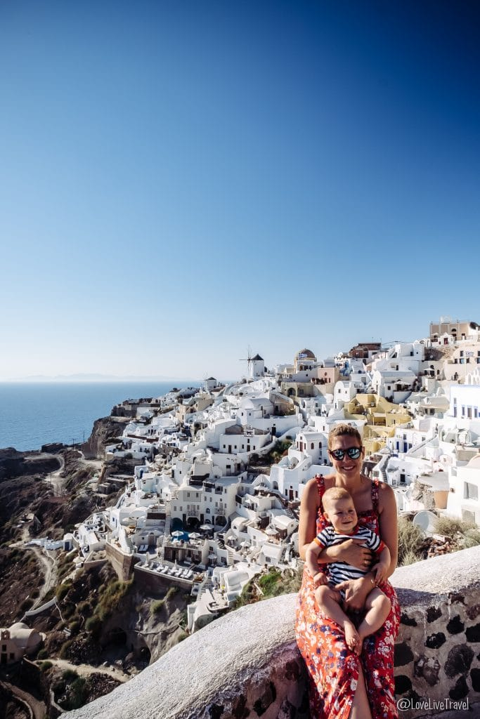 Découvrir l'île de Santorin en 6 jours oia blog voyage lovelivetravel