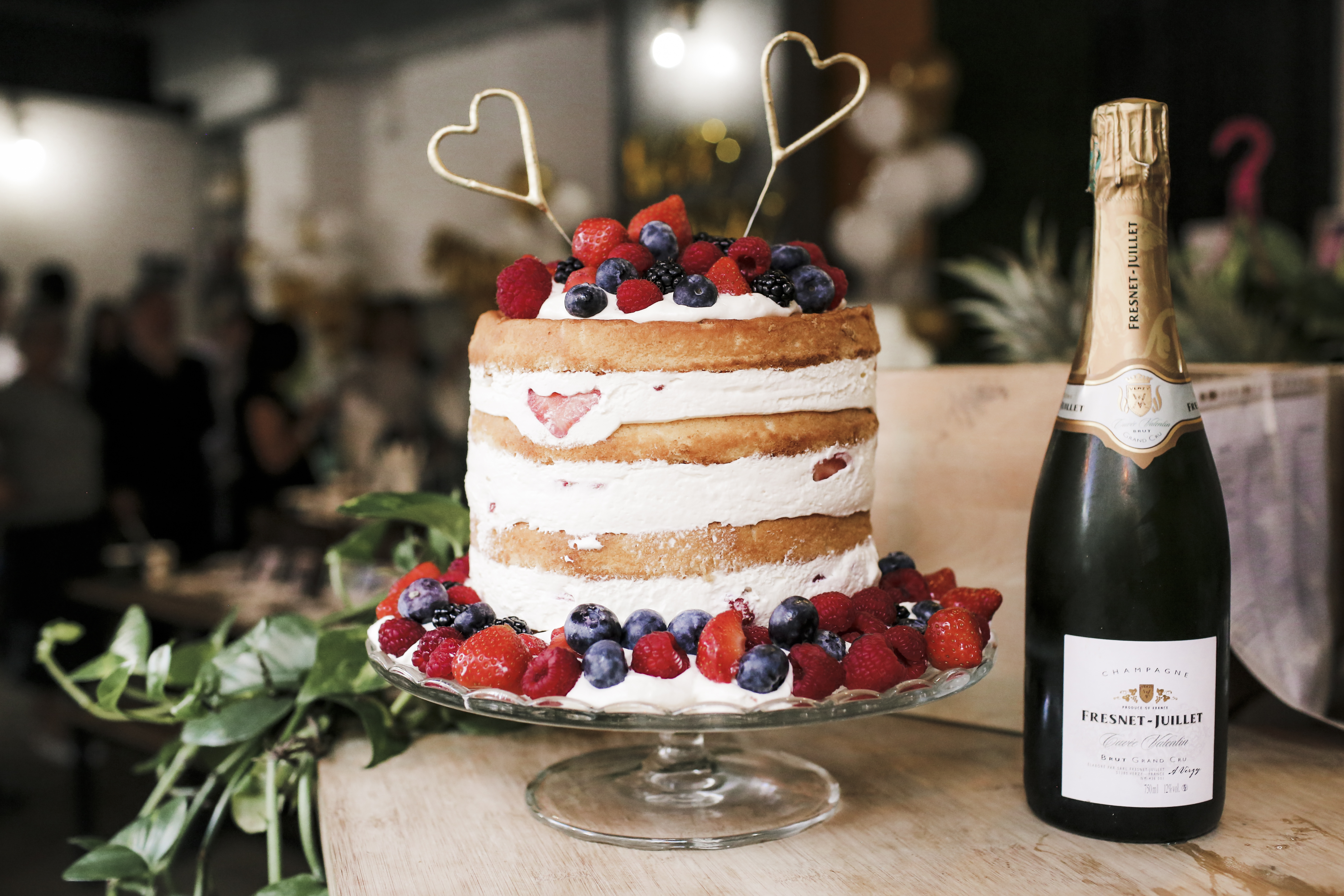 Recette du naked cake aux fruits rouges