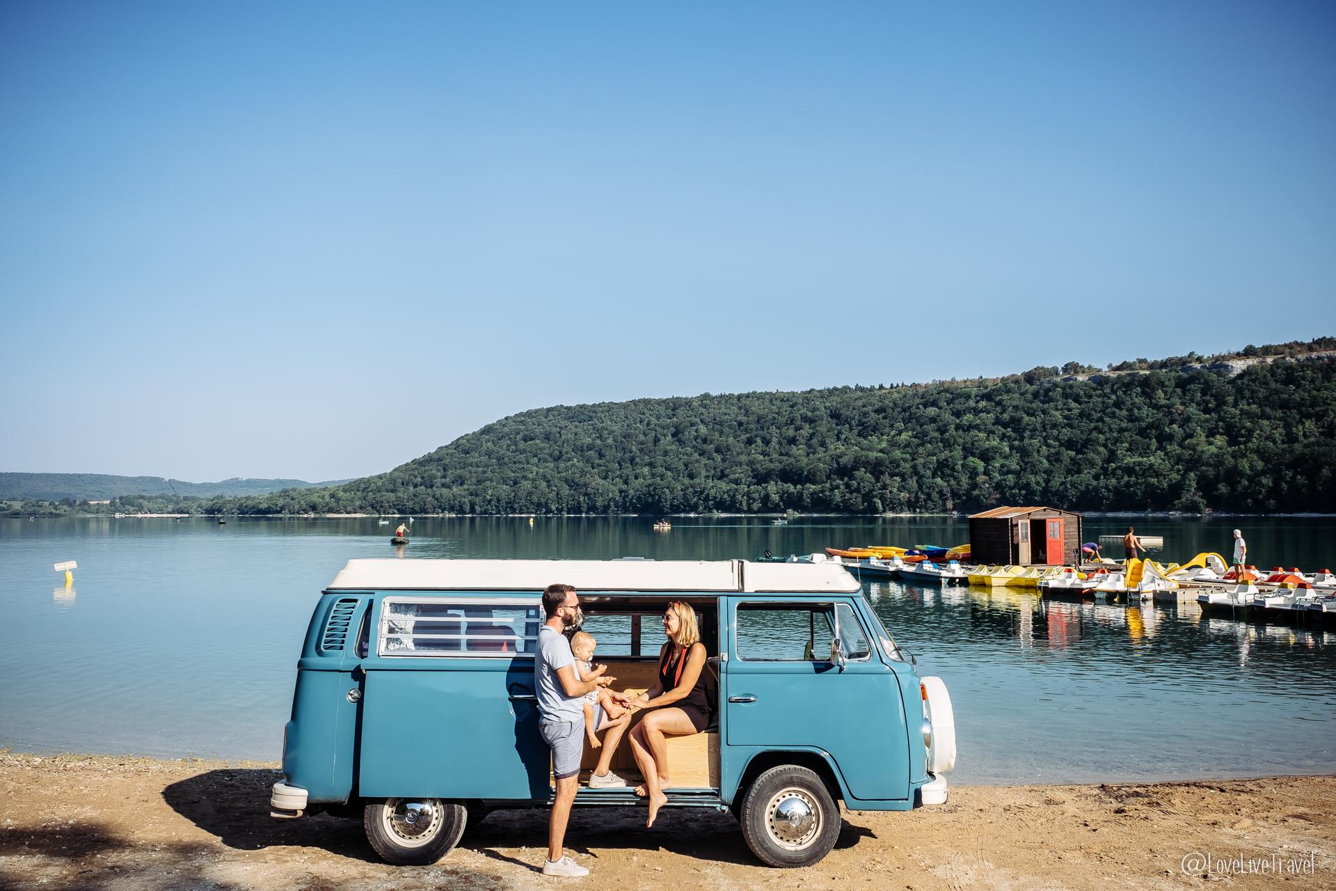 Découvrir le Jura en combi VW en 3 jours