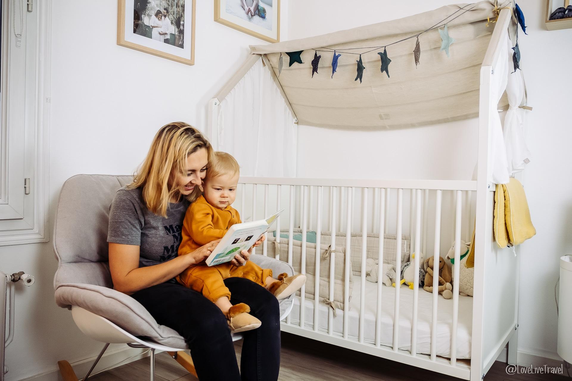 Décorer la Chambre de bébé : l'univers de Valentin