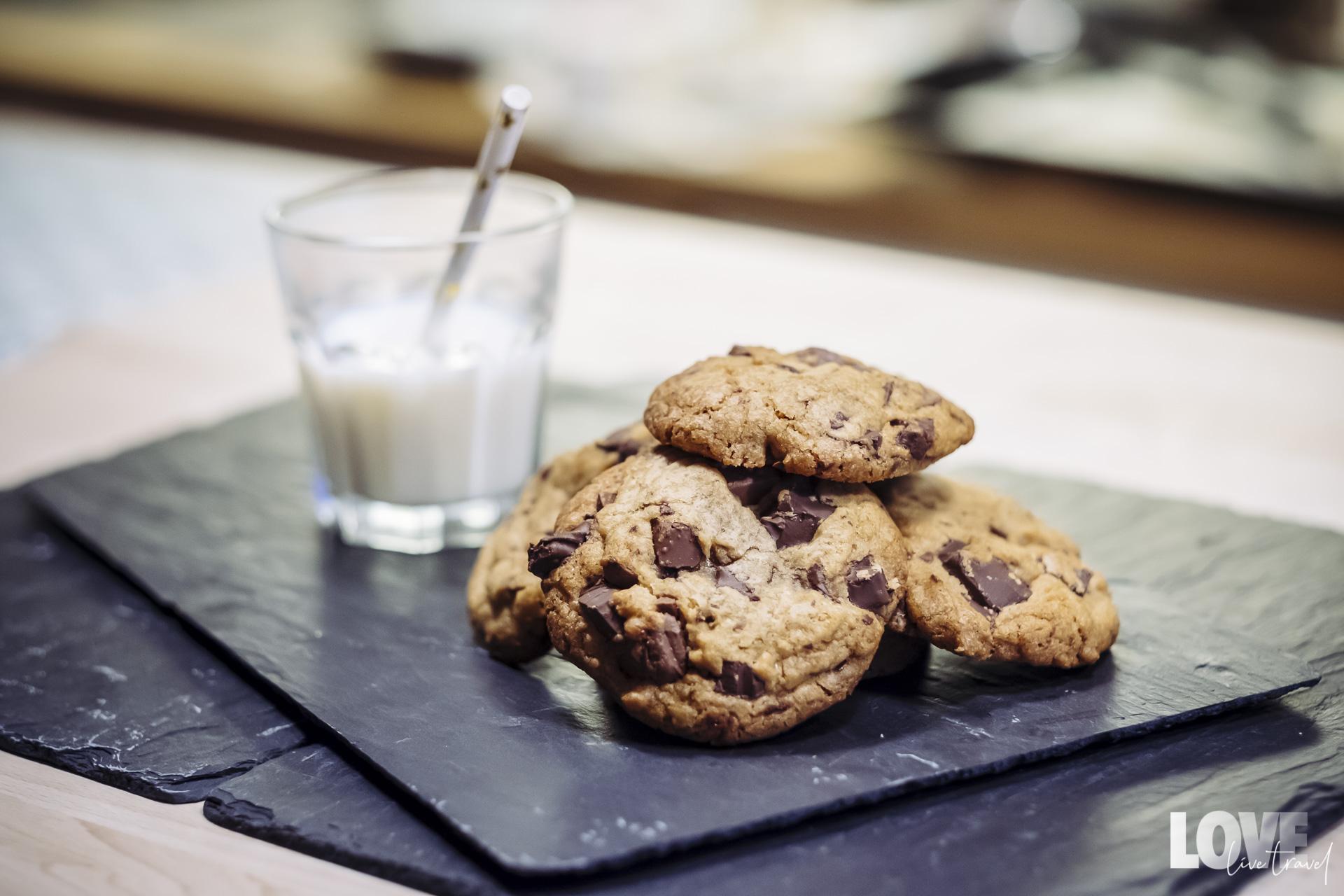 La recette de cookies au chocolat