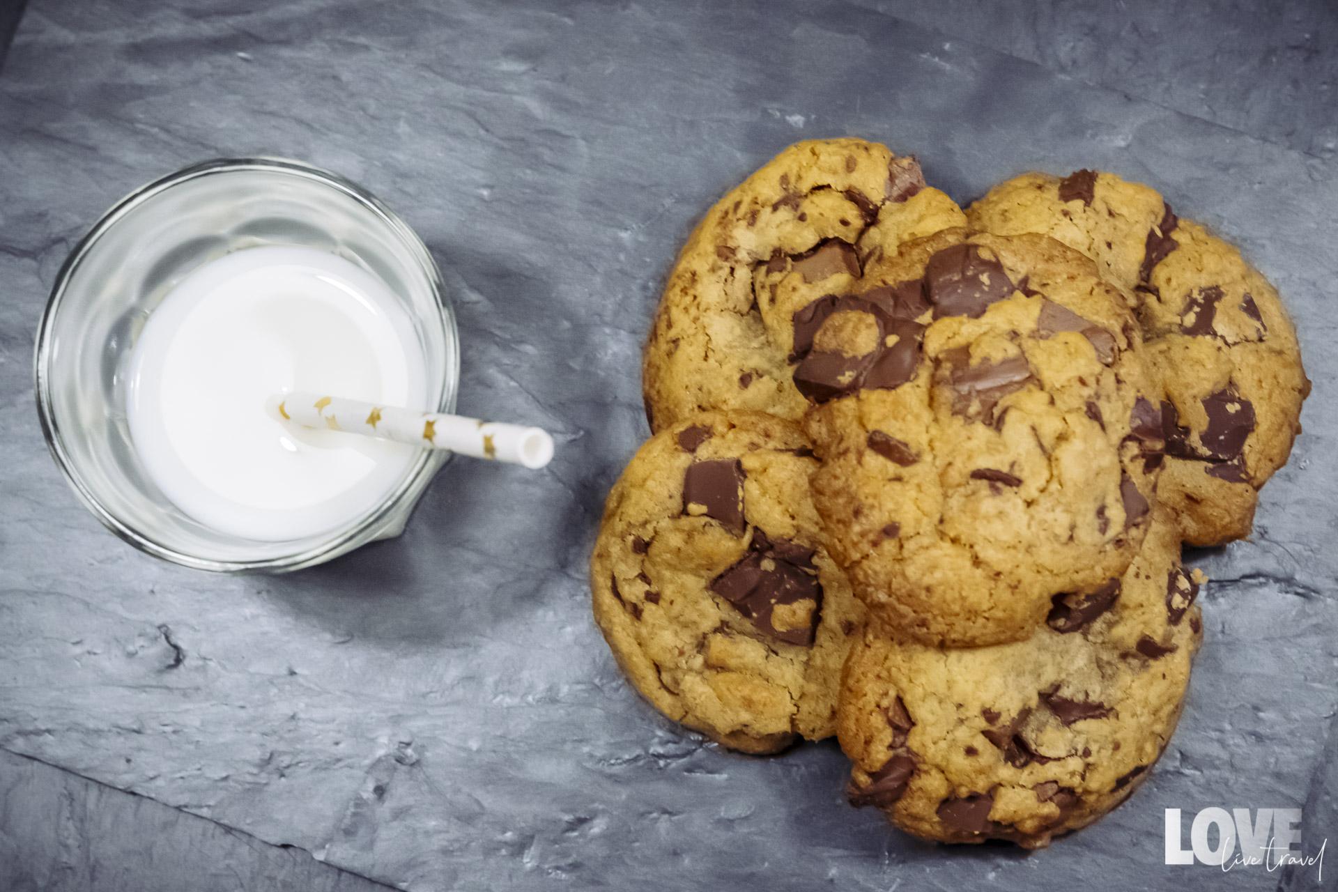 La recette de cookies au chocolat blog voyage et lifestyle lovelivetravel