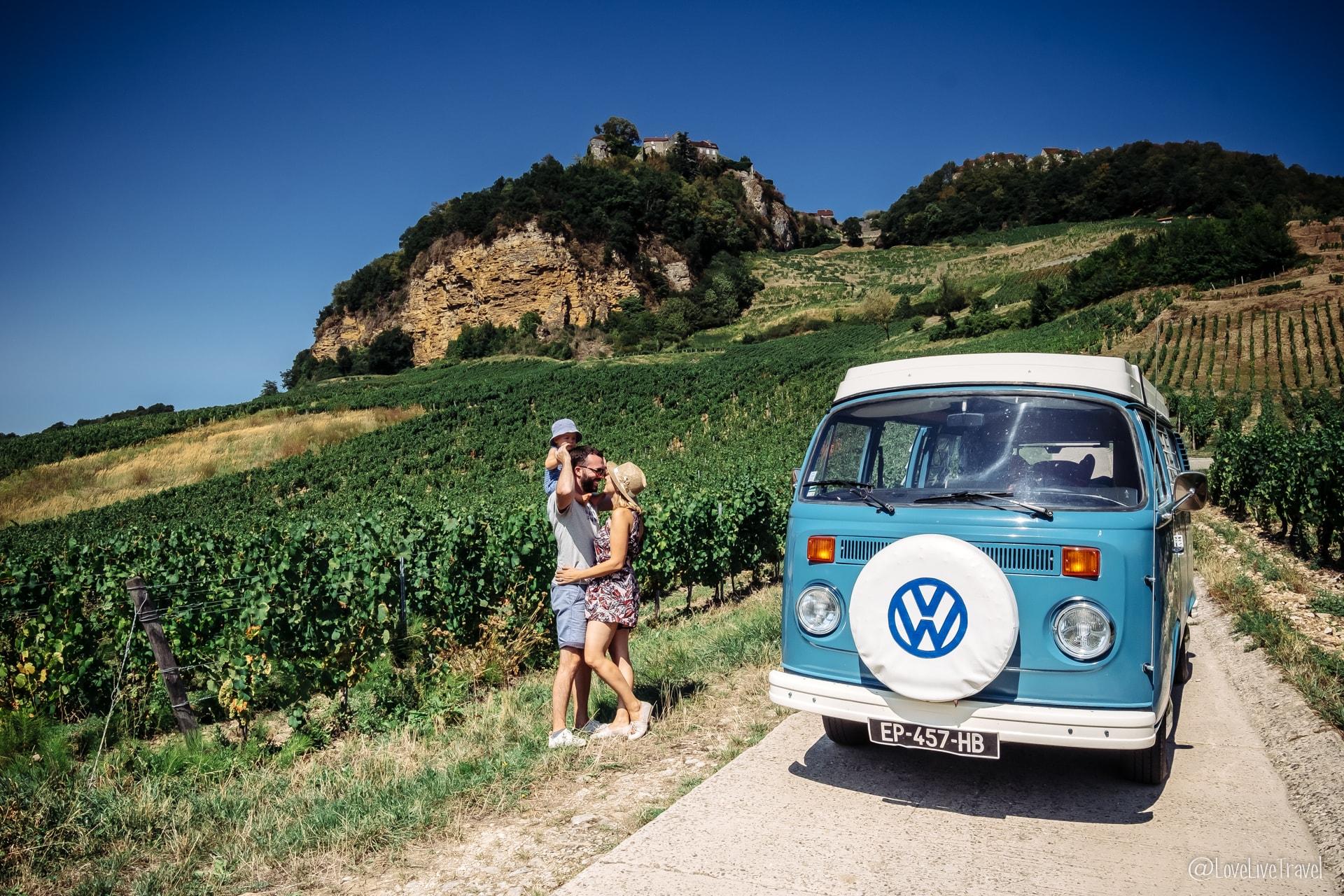 Découvrir le Jura en combi VW en 3 jours blog voyage et lifestyle lovelivetravel