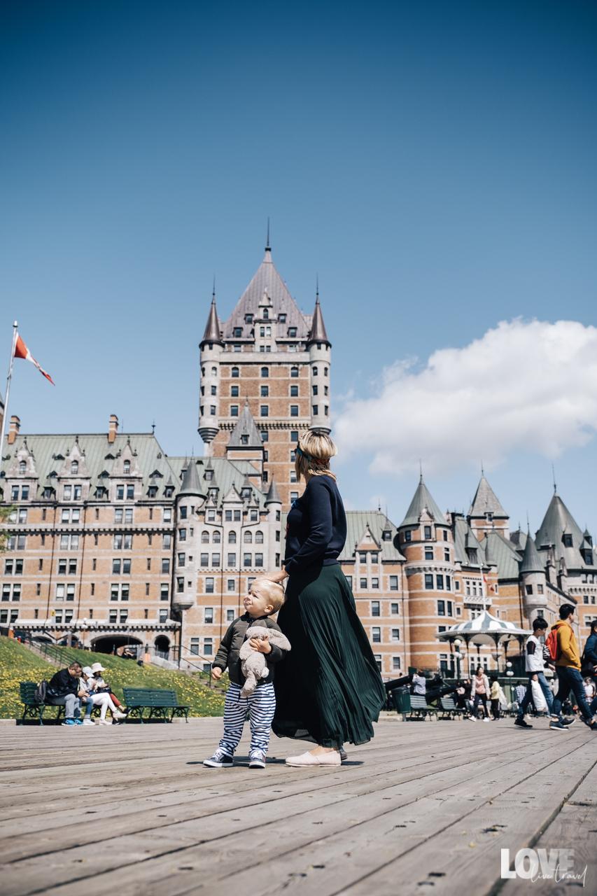 Hôtel Fairmont Frontenac Québec City lovelivetravel blog voyage et lifestyle