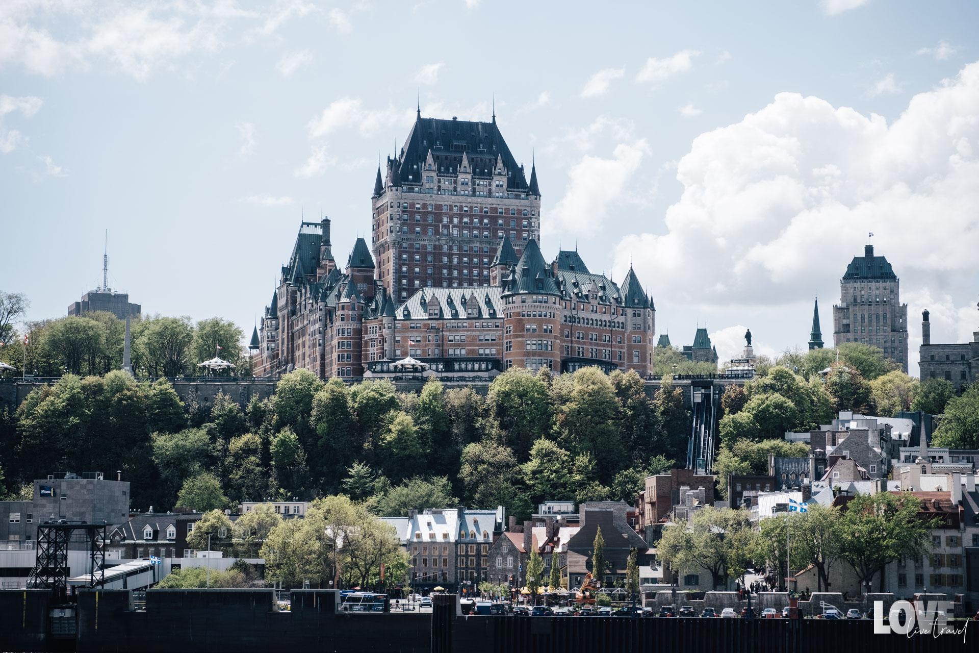 Hôtel Fairmont le Château Frontenac Québec City