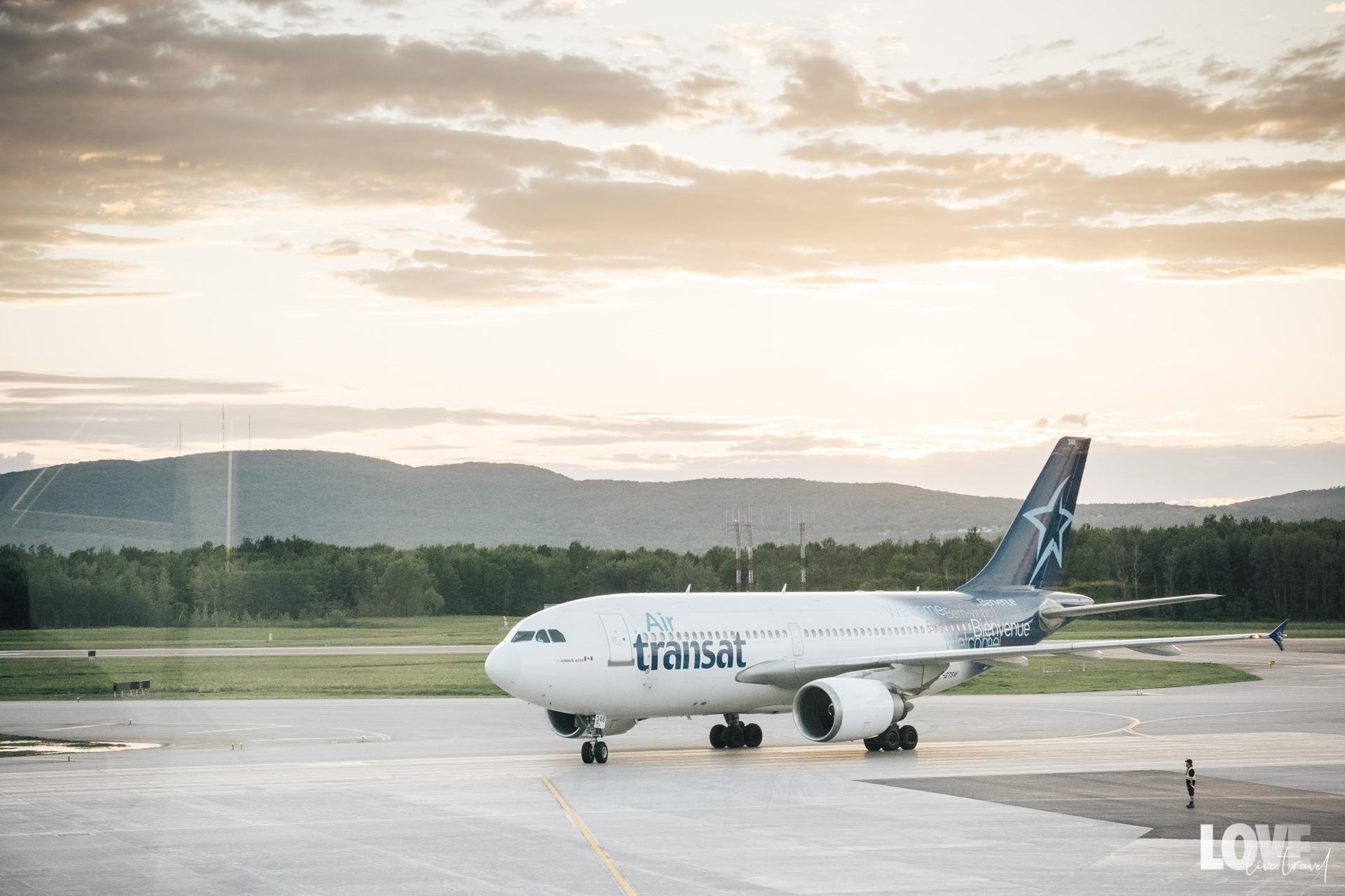 Se rendre au Québec avec Air Transat