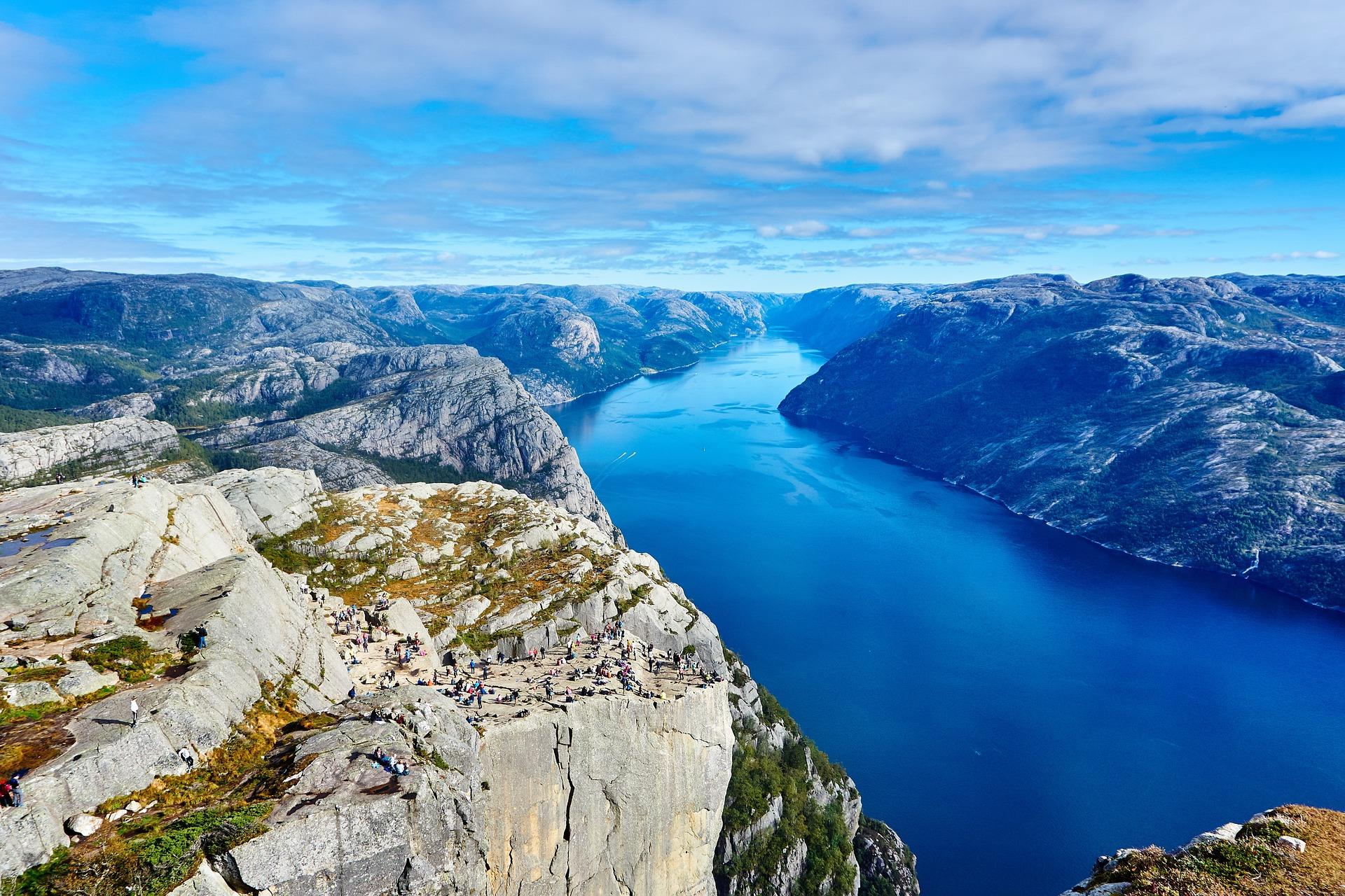 Norvège, itinéraire type pour un road trip de 3 semaines