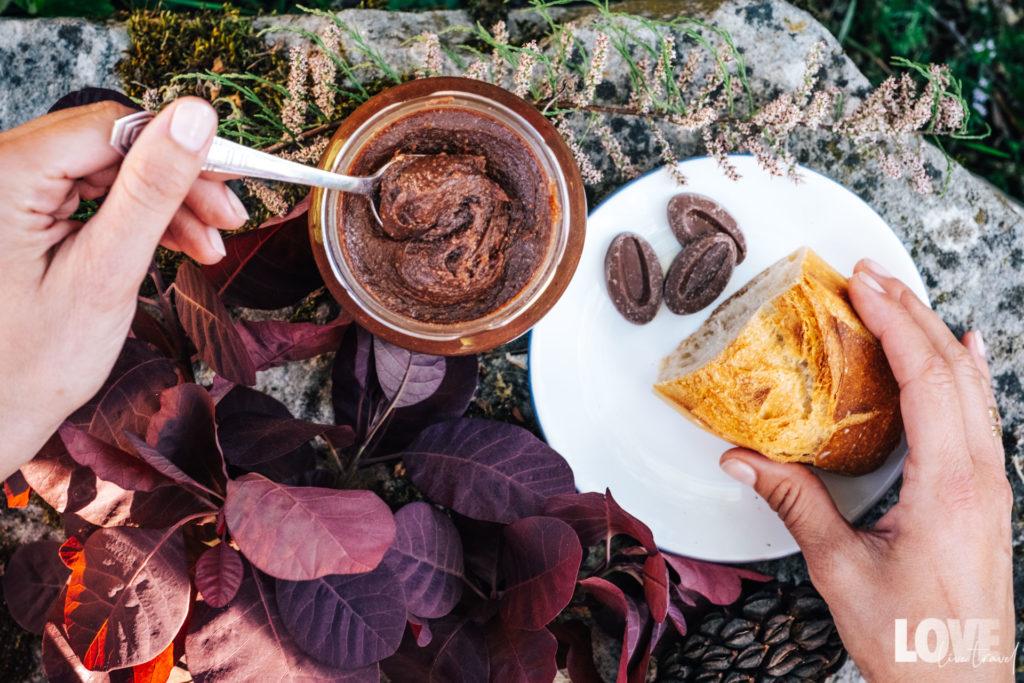 Recette de la pâte à tartiner blog voyage lifestyle lovelivetravel