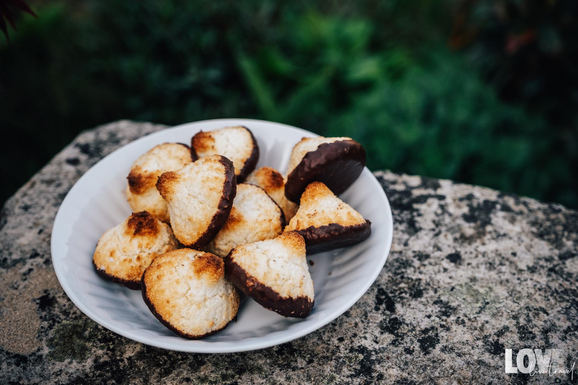Recette des congolais au chocolat ou rochers coco