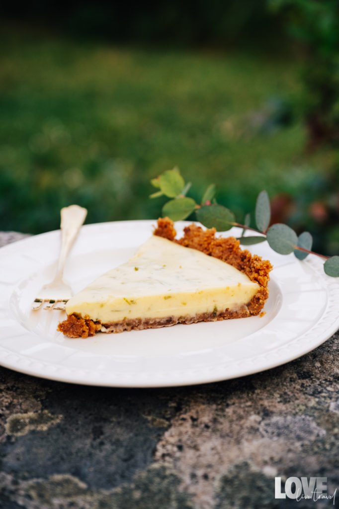 Recette de la key lime pie blog voyage lifestyle lovelivetravel